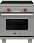 Wolf Ir304pesph 30 Inch Induction Range With 4 Induction Zones Stainless Steel