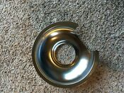 Two 2 Ge Hotpoint Kenmore 6 Chrome Burner Drip Pans Wb32x36 Tp6c1 R6c1
