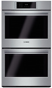 Bosch Hblp651uc Benchmark Series 30 Inch Double Electric Wall Oven In Stainless