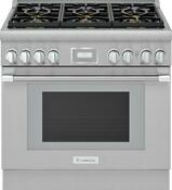 Thermador Pro Harmony Professional 36 Ss Smart Dual Fuel Range Prd366whu