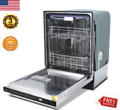 Stainless Steel 24 Inch Top Control Dishwasher Kitchen Smart Dish Washer System