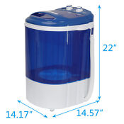 9 Lbs Portable Compact Washing Machine Mini Laundry Washer 200w 110v Save Space