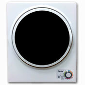 Panda 1 50 Cu Ft Compact Laundry Dryer White And Black