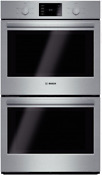 Bosch 500 Series 30 Double Wall Oven In Stainless Steel Hbl5551uc