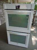 Whirlpool Wod51ec7aw02 27 Double Wall Oven Electric Range Appliance White Nos