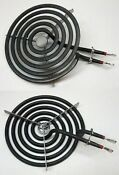 2 Pack Ch30m1 For Ge Range Burner 6 Small Element Wb30m1 Ps243867 Ap2634727