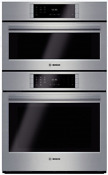 Bosch Hslp751uc Benchmark Series 30 Inch Steam Combination Wall Oven Stainless