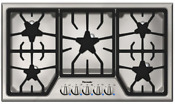 Thermador Sgs365fs Masterpiece Series 36 Inch Gas Cooktop With 5 Star Burners