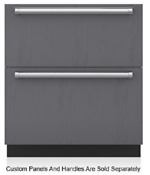 Sub Zero Id30c 30 Inch Integrated Double Drawer Refrigerator Freezer Panel Ready