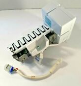 Ge Refrigerator Freezer Ice Maker Unit Wr30x10014 W Arm Wr30x10093 Side Fill