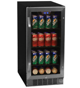 Edgestar Cbr901sg Stainless Steel 15 Wide 80 Can Built In Beverage Cooler