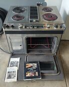 Jenn Air Electric Downdraft Oven Stove Range With Grill Tested Free Shipping