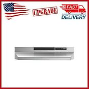 30 In Under Cabinet Range Hood Stainless Steel Insert With Light Exhaust New