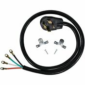 Certified Appliance Accessories 30 Amp Appliance Power Cord 4 Prong Dryer Cor