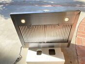 Zephyr 30 Inches Range Hood Zve E30cs Used Excellent Condition Stainless Steel