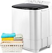Portable Washing Machine 21 2lbs Compact Twin Tub Wash Spin Combo For Apartment