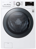 Lg Wm3900hwa 27 Inch Front Load Washer With Turbosteam In White