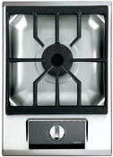 Wolf Im15s 15 Inch Gas Multi Function Cooktop In Stainless Steel