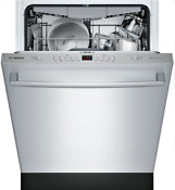 Bosch Shxm4ay55n 100 Series 24 Fully Integrated Dishwasher In Stainless Steel