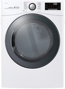 Lg Dlex3900w 27 Inch Electric Dryer W Turbosteam In White 7 4 Cu Ft Capacity