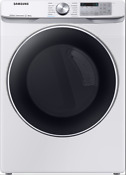 Samsung Dve45r6300w 27 Inch Electric Dryer With Steam Sanitize In White