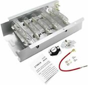279838 279816 Dryer Heating Element With Thermal Cut Off Kit