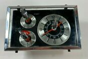 Vintage Ge Hotpoint Range Oven Stove Clock Timer Unit Wb19x5224 W Knobs Glass