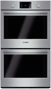 Bosch Hbl5551uc 500 Series 30 Inch Double Electric Wall Oven Stainless Steel