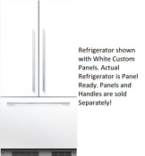 Fisher Paykel Rs36a72j1 N 36 Panel Ready Built In French Door Refrigerator