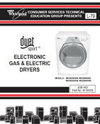 Whirlpool Duet Sport Dryer Service Repair Manual