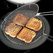Toasting Grilling Rack Bread Toaster For Aga Range Oven Cooker Hotplate A1843