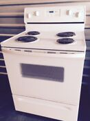 Whirlpool Electric Stove Used Works Great 30 Standard Size