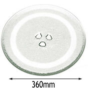 Panasonic Genuine Microwave Glass Turntable Plate 360mm