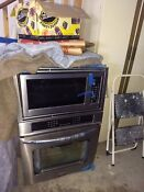 Frigidaire Gallery 27 Ss Microwave Convection Oven Combo Mdl Fgmc2765pf