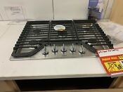 Whirlpool Stainless Steel 30 Gas Stove Top Range Top