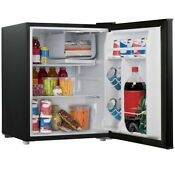 Mini Fridge With Freezer Refrigerator Dorm Room Party Cooler Small