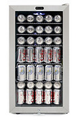 Whynter Br 128ws Lock Stainless Steel 120 Can Capacity Beverage Refrigerators