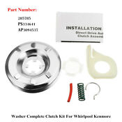 285785 Ps334641 Ap3094537 Washing Machine Clutch Assembly For Whirlpool Kenmore