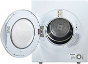 Magic Chef 2 6 Cu Ft Compact Electric Mini Dryer White Apartment Dorm Rv