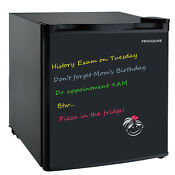 Frigidaire 1 6 Cu Ft Eraser Board Mini Fridge Black