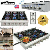 Thor Pro 36 Gas Rangetop Oven Stove Top With 6 Burner Stainless Steel Hrt3618u