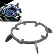 Wok Pan Stand Supports Rack Cast Iron Burners Stove Cookware Ring Round Based