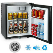Mini Fridge Refrigerator With Lock For Office Room Compact 1 05 Cu Ft Cooler 30l