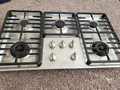Miele Km3475g 36 Stainless Steel Natural Gas Cooktop 5 Burner Read Description