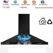 30 Inch Under Cabinet Range Hood Kitchen Exhaust Stove Vent 750cfm Touch Control