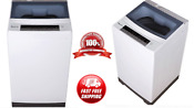 Portable Compact White Wash Machine Washing Spin Cycle 1 6 Cu Ft Top Load Washer