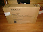 Kenmore 5126 White Blanco 30 Range Hood 2 Speed Fan Ss Filters