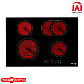 Gasland Chef Ch77bf 30 Built In Vitro Ceramic Surface Radiant Electric Cooktop