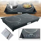 Portable Electric Induction Cooktop Cooker 1200w Sensor Touch With Safety Lock