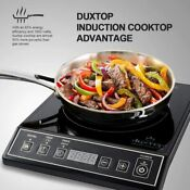1800w Electric Portable Cooktop Digital Single Induction Cooker Countertop 9100m